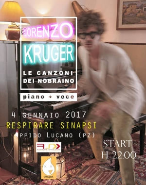 Lorenzo Kruger in concerto ad Oppido