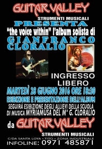 "Presentazione dell'album ""The voice within""."